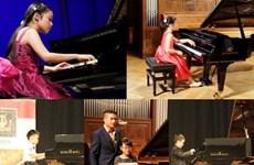 Ouverture du 3ème Concours international de piano de Hanoi