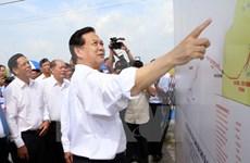 Mise en chantier de grands ouvrages à Kiên Giang