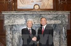 Activités du leader du Parti communiste du Vietnam au Japon