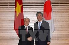 Le secrétaire général du PCV achève sa visite officielle au Japon