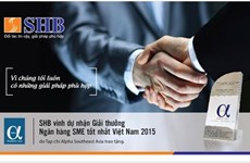 SHB et HDBank dintinguées par des magazines internationaux