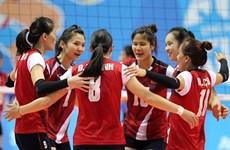 Le Vietnam reste au 35e rang mondial au volley-ball féminin