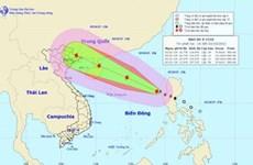 La tempête tropicale Mujigae menace des provinces du Nord du Vietnam