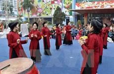 Présentation du chant Xoan à des experts asiatiques