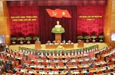 La 5e journée de travail du 12e Plénum du Comité central du PCV