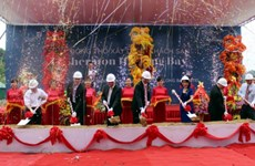 Quang Ninh: mise en chantier d'un hôtel de cinq étoiles