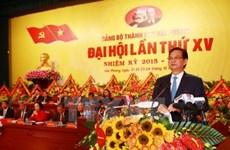 Ouverture du Congrès de l'organisation du PCV pour Hai Phong