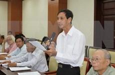 Congrès national du PCV : la population invitée à s'exprimer