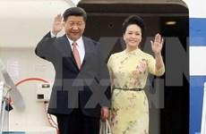 Cérémonie d'accueil officielle du président chinois Xi Jinping à Hanoi