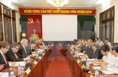 Le président de la CGTV rencontre des députés européens