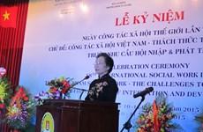 Célébration de la Journée mondiale du travail social à Hanoi