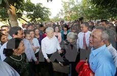 Nguyen Phu Trong à la Fête de grande union nationale à Hanoi