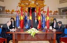 Déclaration commune Vietnam - Nouvelle-Zélande