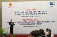 La coopération Vietnam-OECD s'oriente vers un développement inclusif