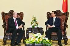 Le PM Nguyen Tan Dung reçoit le ministre cubain du Commerce extérieur