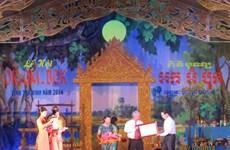 De riches activités à l'occasion de la Fête khmère Ok Om Bok à Trà Vinh