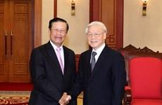 """""""Le Vietnam toujours prêt à aider le Laos de tout son possible"""""""