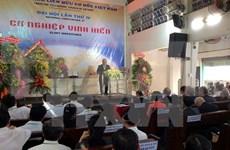 Congrès de l'Eglise de la fraternité chrétienne du Vietnam à Ho Chi Minh-Ville