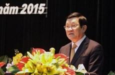 Le chef de l'État au Congrès de l'Association des Sciences historiques du Vietnam