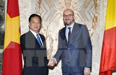 Entretien des Premiers ministres vietnamien et belge