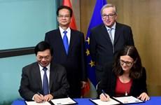 Achèvement des négociations de l'Accord de libre-échange Vietnam-UE