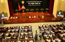Ouverture de la 20e réunion du Conseil populaire de Ho Chi Minh-Ville
