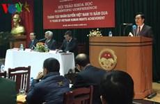 Droits de l'homme : le Vietnam obtient des acquis importants