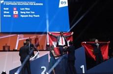 Distinction des Vietnamiens primés au concours des métiers 2015