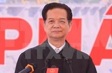 Mise en service d'un turboalternateur de la centrale hydroélectrique de Lai Chau