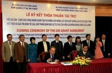 Trois millions de dollars pour améliorer les technologies rizicoles