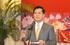 Nouvel An: rencontre avec des attachés de presse et reporters étrangers au Vietnam