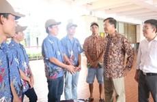 L'Indonésie revoie dix pêcheurs vietnamiens dans leur pays