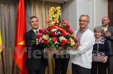 Célébration du 50e anniversaire de la fondation de l'Association d'amitié Ukraine-Vietnam