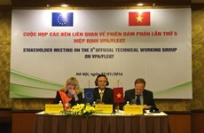 L'UE, un marché prometteur pour la filière vietnamienne du bois