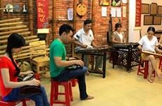 Un petit espace de folk vietnamien à Hô Chi Minh-Ville