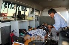Ba Ria-Vung Tau : un marin étranger malade transporté vers le continent