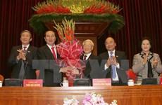Le Comité central du PCV a élu le Bureau politique, le secrétaire général