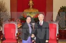 Nguyen Phu Trong reçoit l'envoyée spéciale du secrétaire général du PPRL