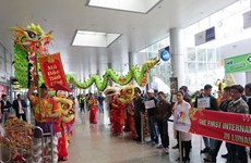 Da Nang accueille le premier vol du Nouvel an lunaire du Singe