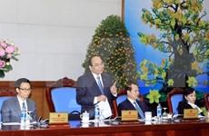 Le vice-Premier ministre Nguyên Xuân Phuc réitère les objectifs pour 2016