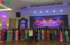 Rencontre des Viet kieu de Xieng Khouang au début du printemps de l'Année du Singe