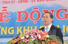 Construction d'une grande zone touristique à Thai Nguyen