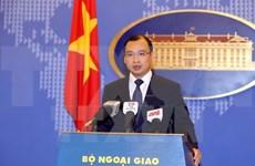 Le Vietnam appelle à des actions responsables en Mer Orientale