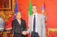 Vietnam et Italie promeuvent la coopération décentralisée