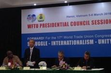 Syndicat : ouverture de la session du Conseil présidentiel de la FSM