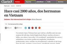 Un journal argentin honore les femmes vietnamiennes