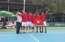 Le Vietnam reste dans le Groupe II de la Coupe Davis pour l'Asie-Pacifique.