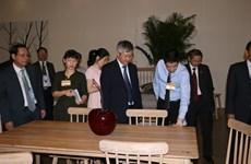 Bois : ouverture de l'exposition VIFA-EXPO 2016 à Hô Chi Minh-Ville