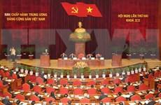 Ouverture du 2e Plénum du Comité central du Parti du 12e mandat