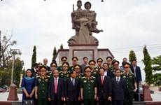 Inauguration du Mémorial des Héros morts pour la Patrie Cambodge - Vietnam